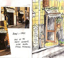 Sketchbook Project Day 5 by Beth A