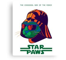 Darth Kitty - Disco Canvas Print