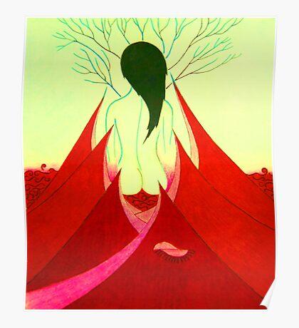Enchantress at Sunrise Poster