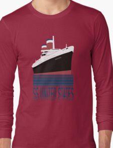 The SS United States - Bon Voyage Long Sleeve T-Shirt