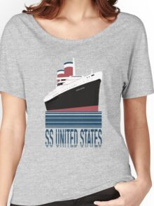 The SS United States - Bon Voyage Women's Relaxed Fit T-Shirt