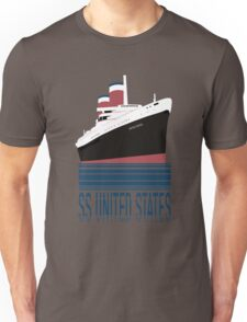 The SS United States - Bon Voyage Unisex T-Shirt