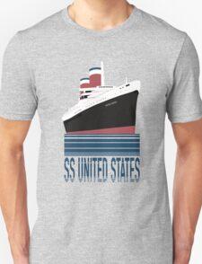 The SS United States - Bon Voyage Unisex T-Shirt
