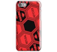 Evangelion - Nerv System Error iPhone Case/Skin