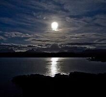 Assynt By Moonlight by derekbeattie