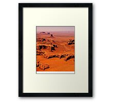 The Long View - Monument Valley, Utah, USA Framed Print