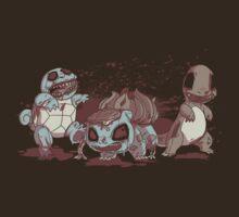 Starter Zombiemon by joshmirm