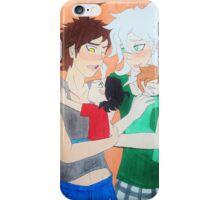 Komahina-Parents iPhone Case/Skin