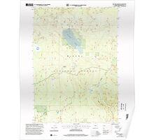 USGS Topo Map Oregon Sellers Marsh 281438 1999 24000 Poster