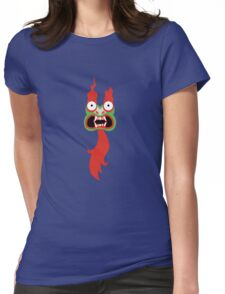 Aku face Womens Fitted T-Shirt