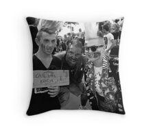 Brisbane 'Zombie Walk' Throw Pillow