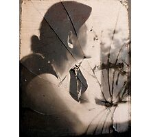Portrait of a Shattered Wife Photographic Print