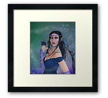 Elvin Woman Framed Print