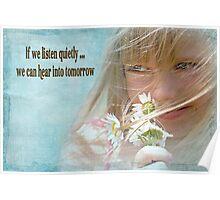 Listen Quietly Poster