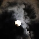 Cloudy Moon by Cathy Cale