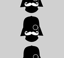 Hipster Darth Vader by bebe-gun