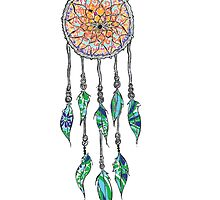 Lilly Pulitzer Dream Catcher by sholsbeke