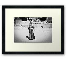 Jordanian Girl Framed Print
