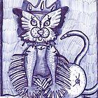 Hidden Kitty by lequarius