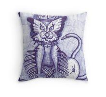 Hidden Kitty Throw Pillow
