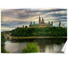 Parliament - Ottawa, Ontario, Canada Poster