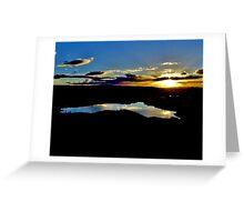 Serenity at Sunset Greeting Card