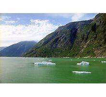 Ice Floats, Alaska Photographic Print