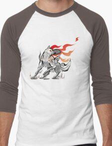 Feral  Men's Baseball ¾ T-Shirt