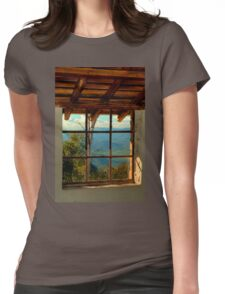 0648 Through the Window Womens Fitted T-Shirt