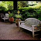 Sit down, relax and enjoy your surroundings.  by Bob Culver
