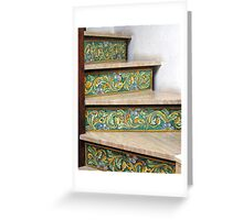 Ceramic Stairs Greeting Card