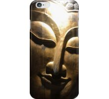 Buddha face iPhone Case/Skin