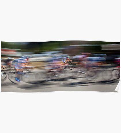 Bike Racers Poster