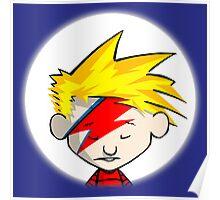 Calvin Hobbes Stardust Poster