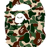 bape mil by goldney09