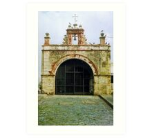 Christ Chapel, Old San Juan  Art Print