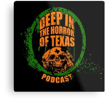 Deep in the Halloween of Texas Podcast Metal Print