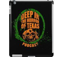 Deep in the Halloween of Texas Podcast iPad Case/Skin