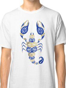 Scorpion – Navy & Gold Classic T-Shirt