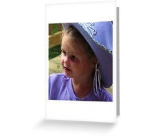 Little Cowgirl Greeting Card