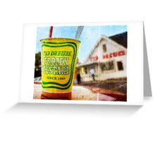 Route 66 - Ted Drewes Frozen Custard Greeting Card