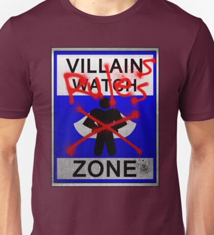 Villains Rules!  Unisex T-Shirt