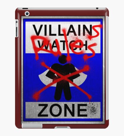 Villains Rules!  iPad Case/Skin