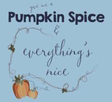 Pumpkin Spice Kids Tee