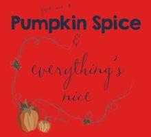 Pumpkin Spice Baby Tee
