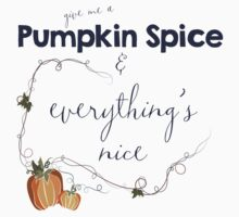 Pumpkin Spice One Piece - Short Sleeve