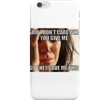 First World Irony iPhone Case/Skin
