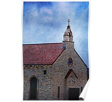 Old Stone Church Poster