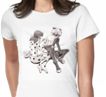 First Aid Womens Fitted T-Shirt