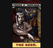 The Seer: from the Tarot of the Zirkus Mägi Unisex T-Shirt